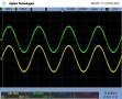 40Hz, 4R. Clean looking waveform, other than the out of band switching noise. 1kHz waveform was visually similar.