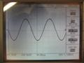 1kHz sine wave at 4R. Clean and perfect.