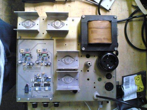 Amp Repair: Wurlitzer Jukebox Amp Repair
