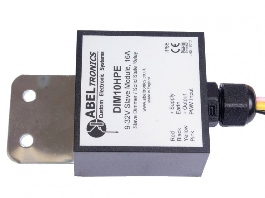 Dim10hpe Slave Low Voltage Led Dimmer And Power Booster
