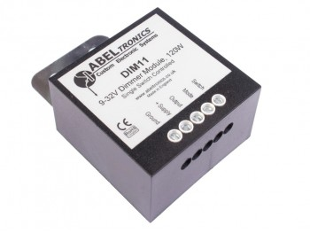 DIM11 LED Dimmer, Push Switch Controlled, PWM, 12V 24V 10A Low Voltage - Product Image 1