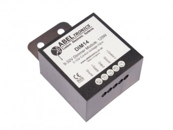 DIM14 LED Dimmer, 0-10 Volt Controlled, PWM, 12V 24V Low Voltage 10A - Product Image 1