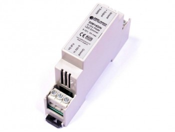 DIM14DIN LED Dimmer, 0-10 Volt Controlled, DIN-Mount, PWM, 12V 24V Low Voltage 5A - Product Image 1