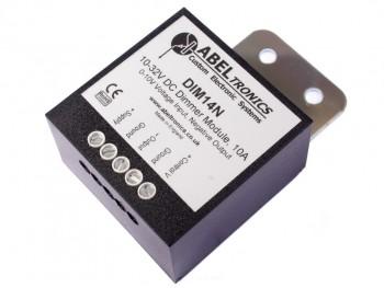 DIM14N LED Dimmer, 0-10 Volt Controlled, Negative Output, PWM, 12V 24V Low Voltage 10A - Product Image 1