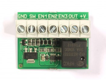 FOG-901NP Momentary Switch to Latching Switch Converter, Toggle Action, Non-potted - Product Image 1