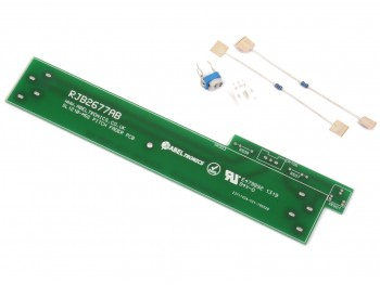 RJB2677AB-KIT RFKBL120M5GK Technics SL-1200/SL-1210 GLD/M5G/MK5G/M5HK Pitch Fader Replacement PCB with Parts - Product Image 1