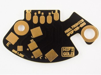 SFDP122-22G SFDP122 Technics SL1200 SL1210 Phono RCA Tonearm Replacement PCB Gold - Product Image 1